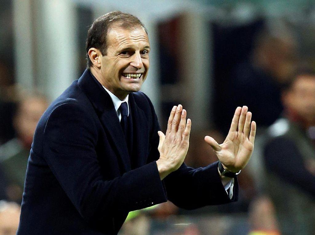 Juventus Tampil Agresif, Allegri Puas