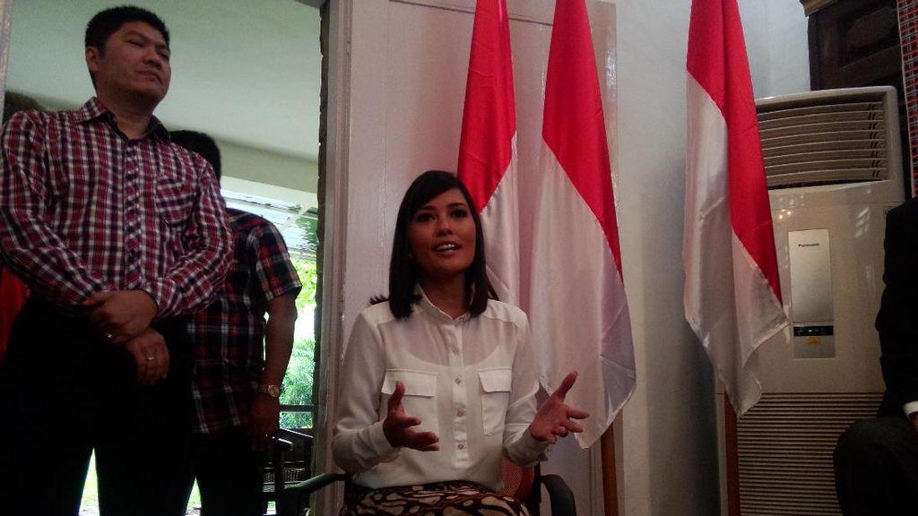 Ikut Kampanyekan Ahok-Djarot, Titi Rajo Bintang Mengaku Tak Dibayar