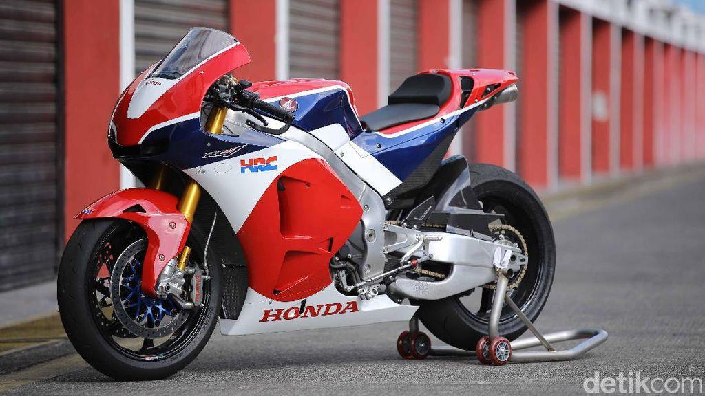 Ramai-ramai Jajal Motor MotoGP Honda di Sentul