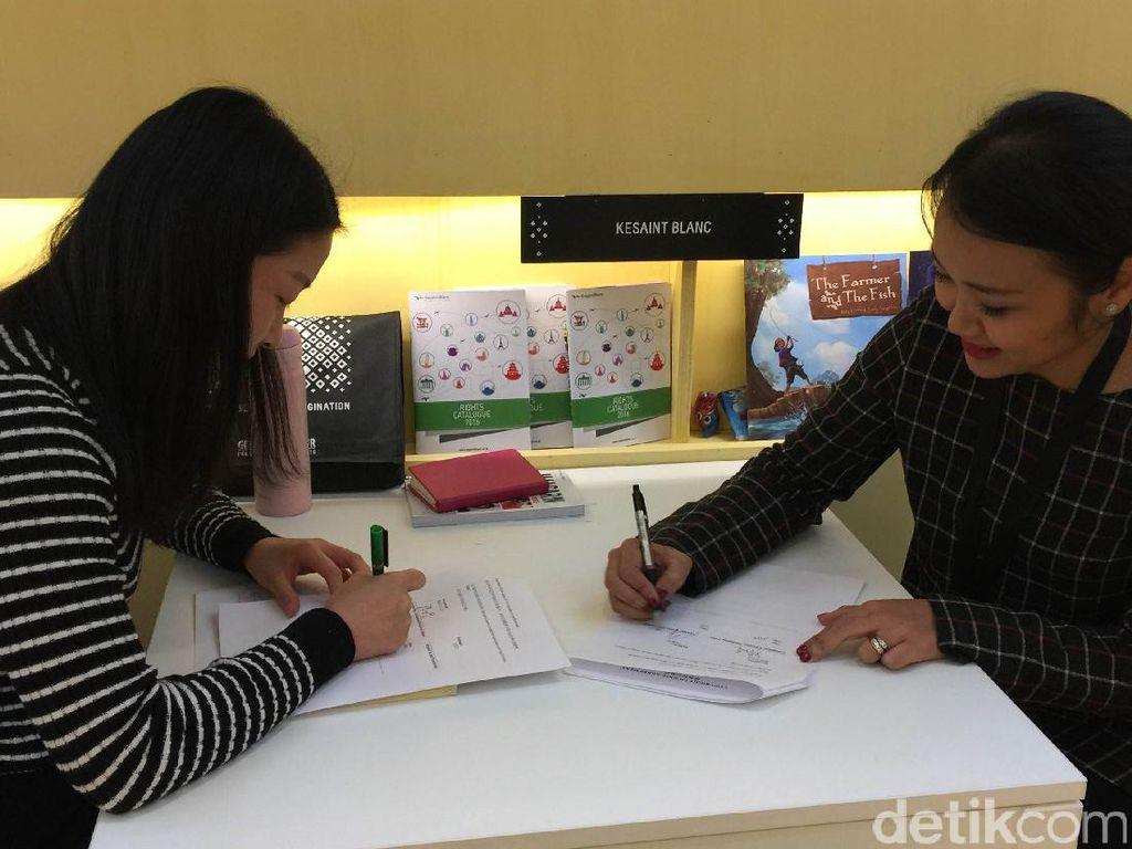 Sukses di Frankfurt Book Fair 2016, Indonesia Jual 141 Judul Buku