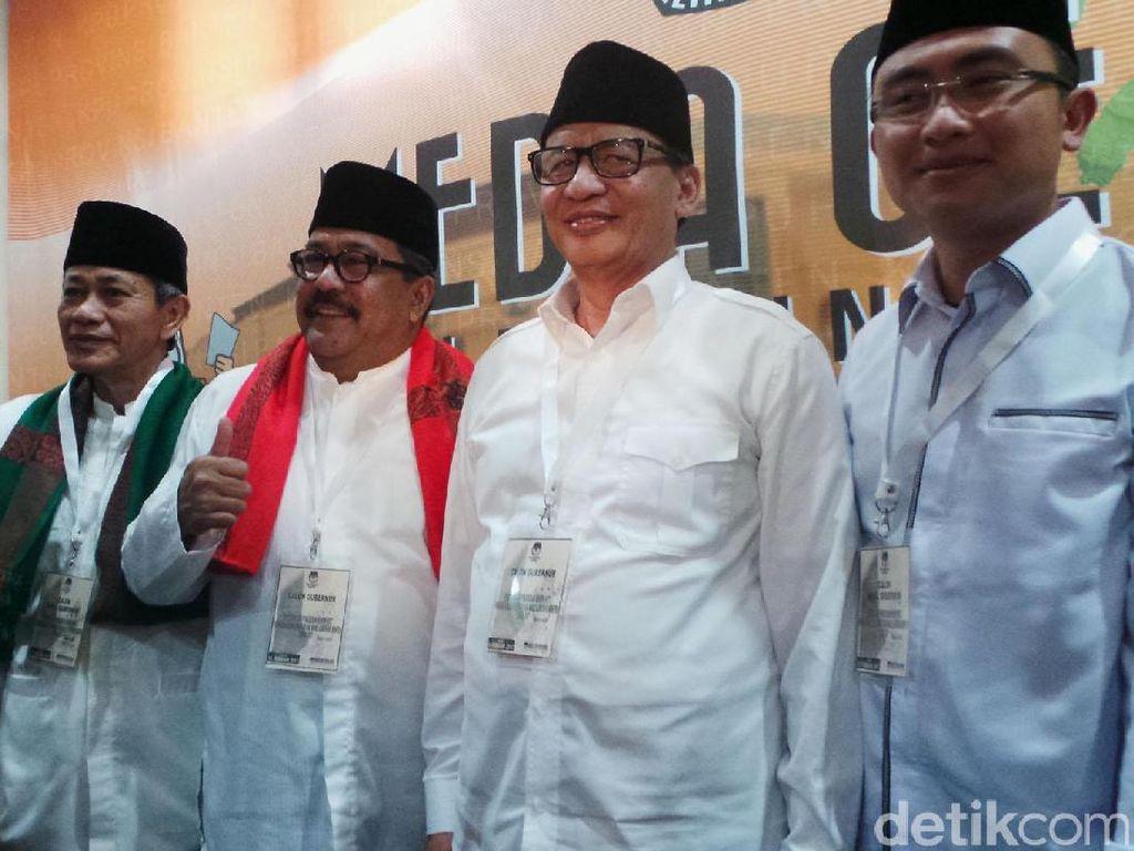 KPU Banten Umumkan Pasangan Cagub-Cawagub