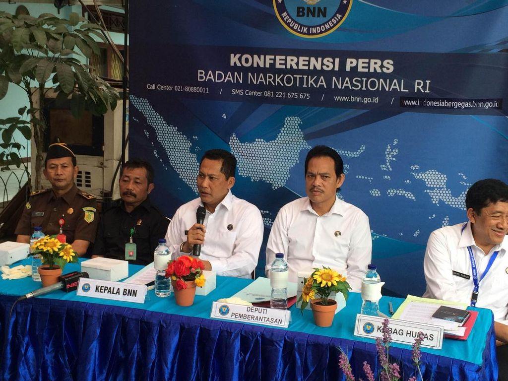 BNN Musnahkan 32 Kg Sabu Milik Jaringan Medan