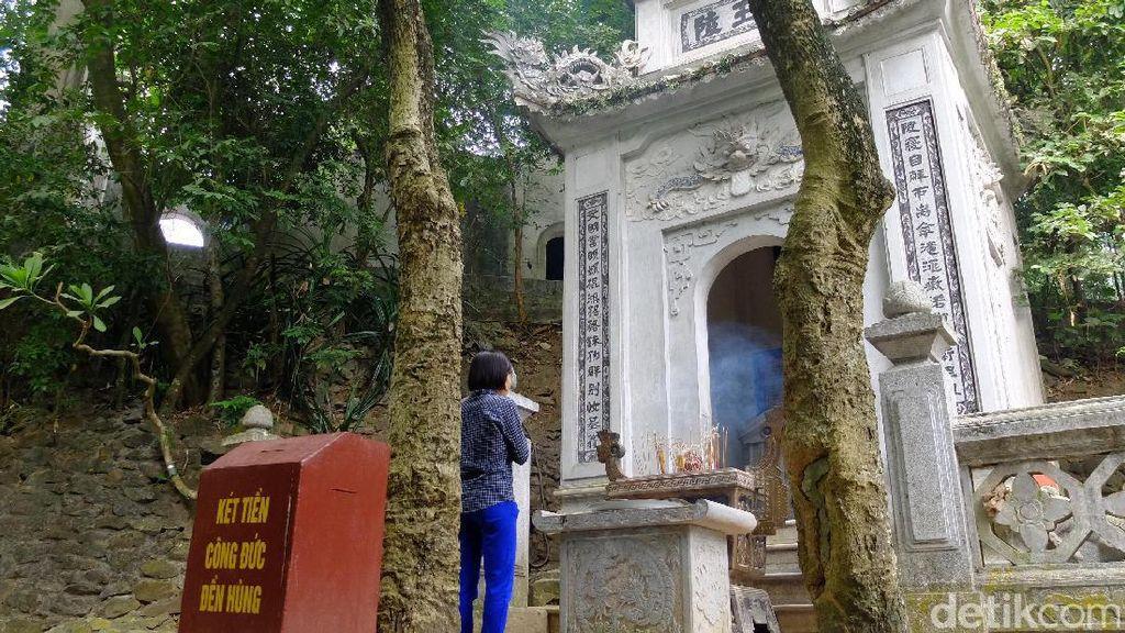 Potret Komplek Kuil Raja Hung, Sang Bapak Bangsa Vietnam