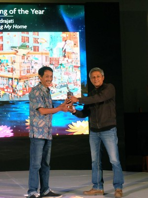 Lukisan 3D Gatot Indrajati Juarai UOB <i>Painting of The Year</i>
