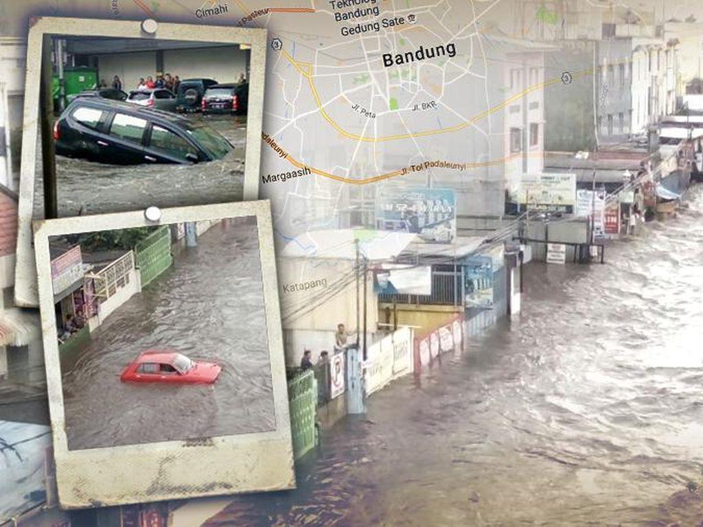 Ridwan Kamil-Oded Belum Optimal Selesaikan Macet dan Banjir