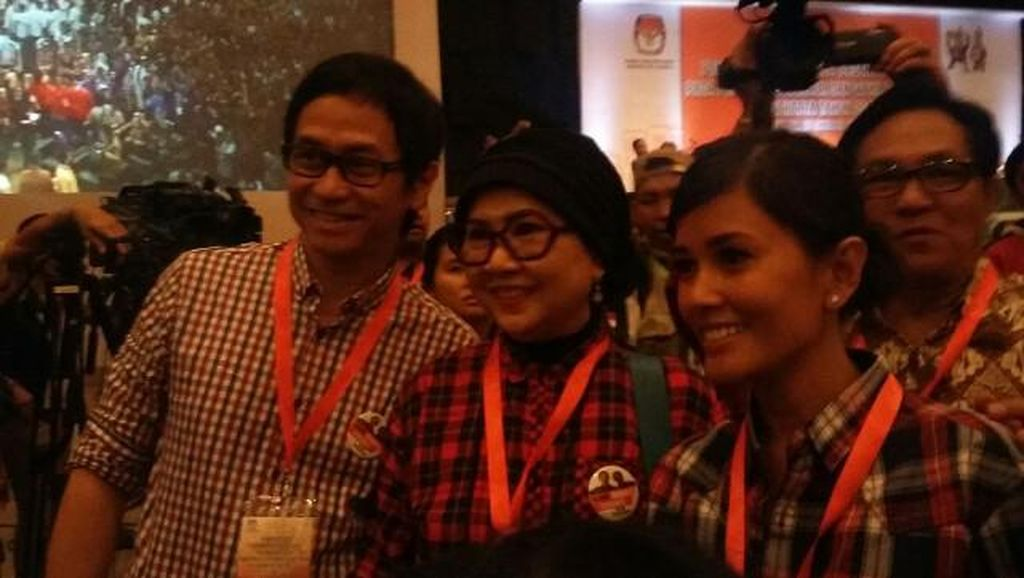 Titi Rajo Bintang Sapa Ahok: Bodyguard Enggak Dibawa Nih?
