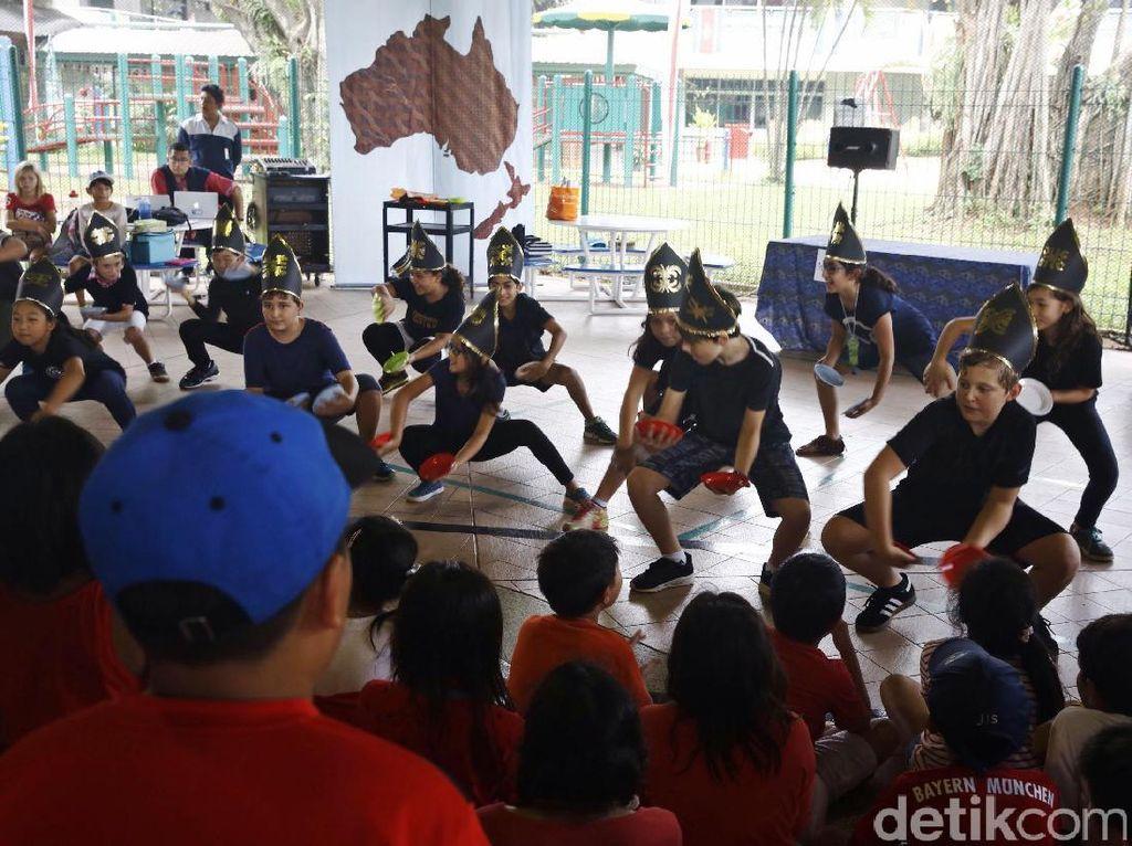 Antusiasme Siswa JIS Belajar Budaya Indonesia