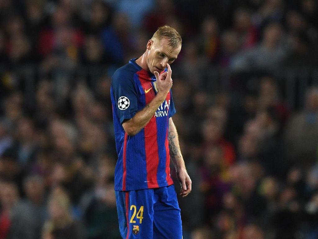 Tinggalkan Barcelona, Mathieu Gabung Sporting Lisbon