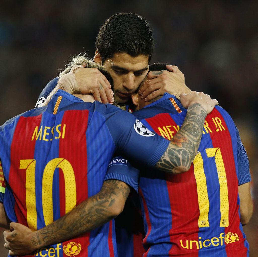 Coutinho Anggap Trio MSN yang Terbaik, Ini Alasannya