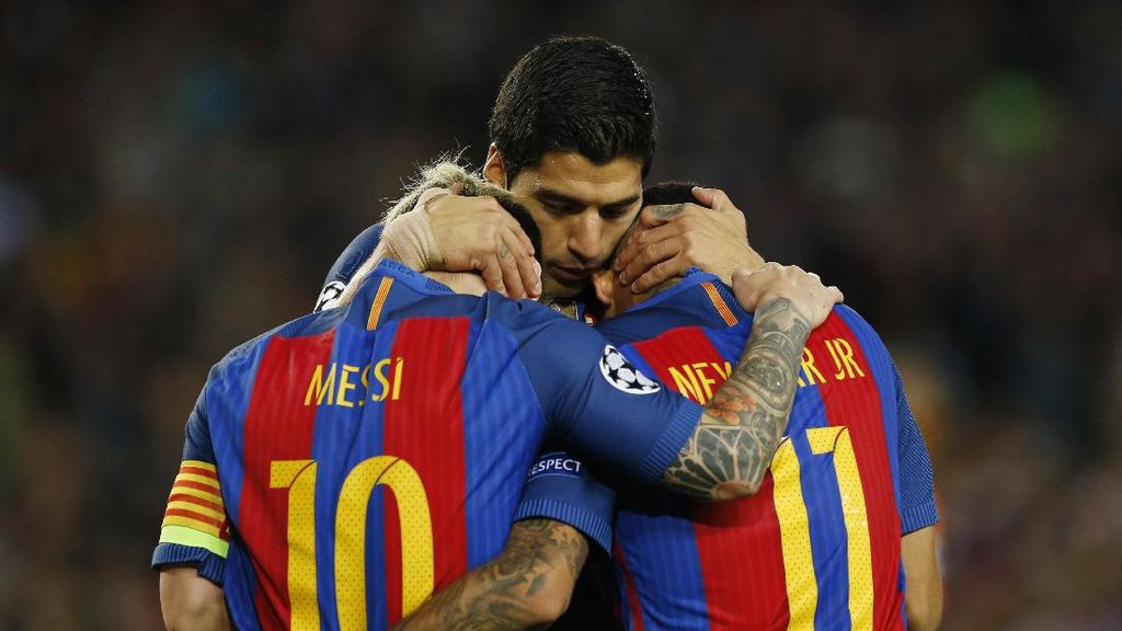 Messi, Suarez, dan Neymar Fit untuk Lawan Bilbao