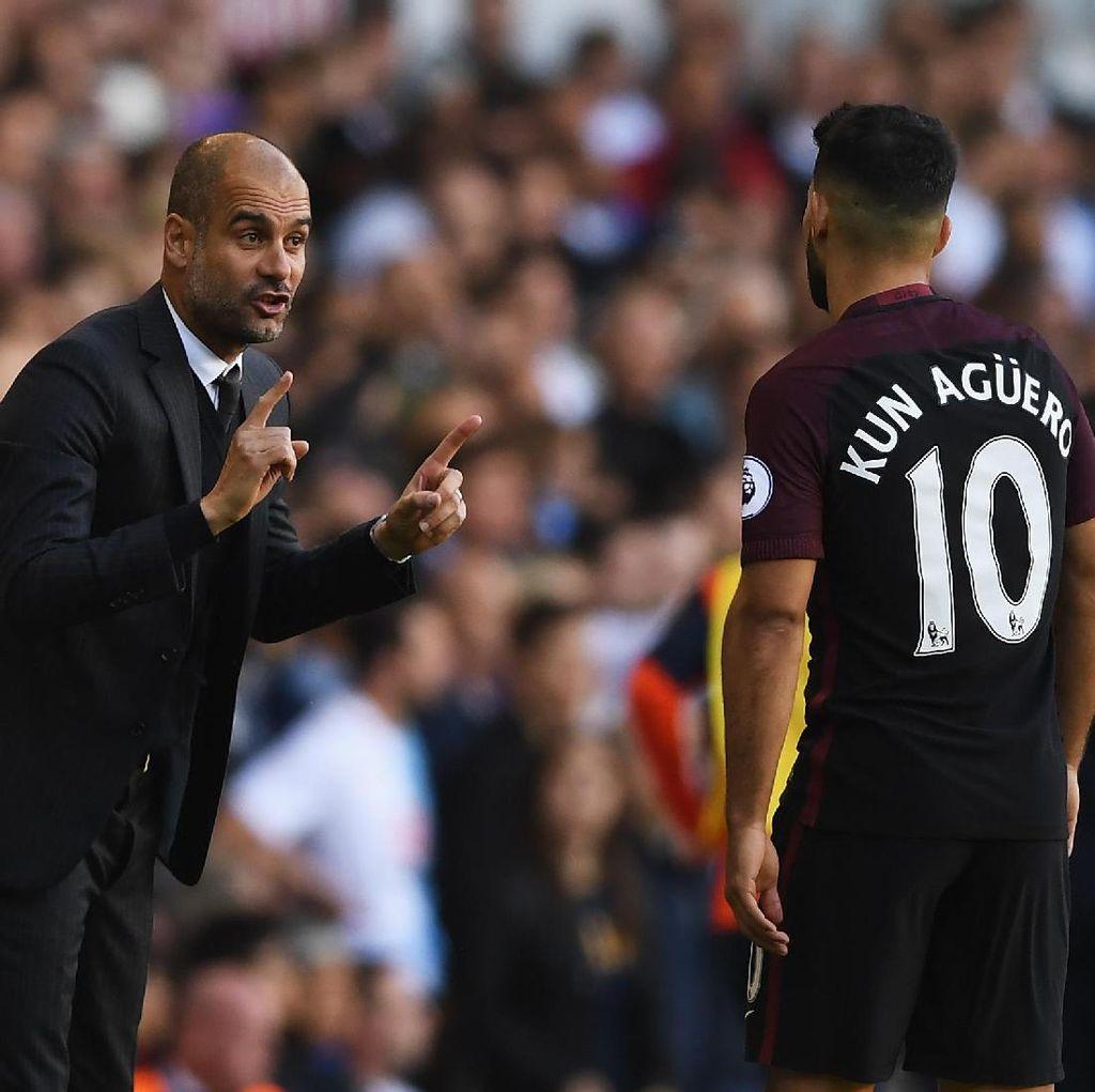 Makan Malam dengan Aguero, Guardiola Tak Bicarakan Kontrak