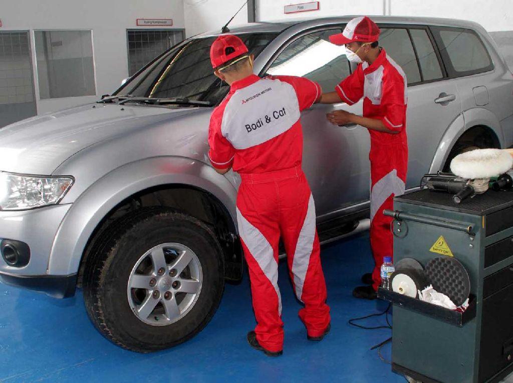 Body Repair dan Paint Shop Mitsubishi di Bandung