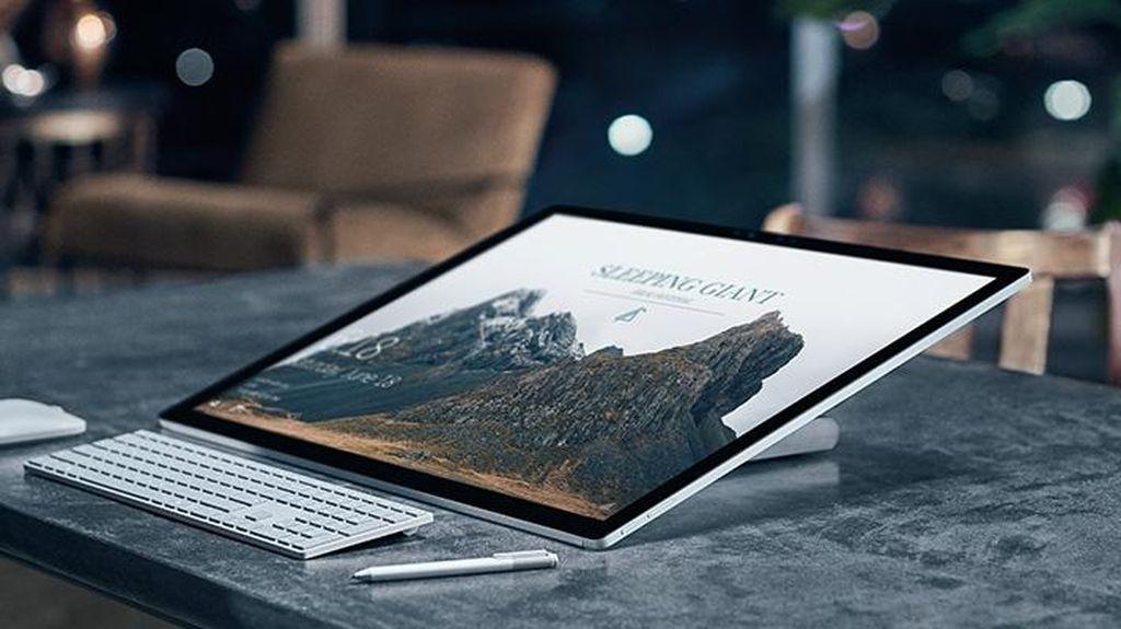 Microsoft Rilis Surface Studio, Sang Penantang iMac