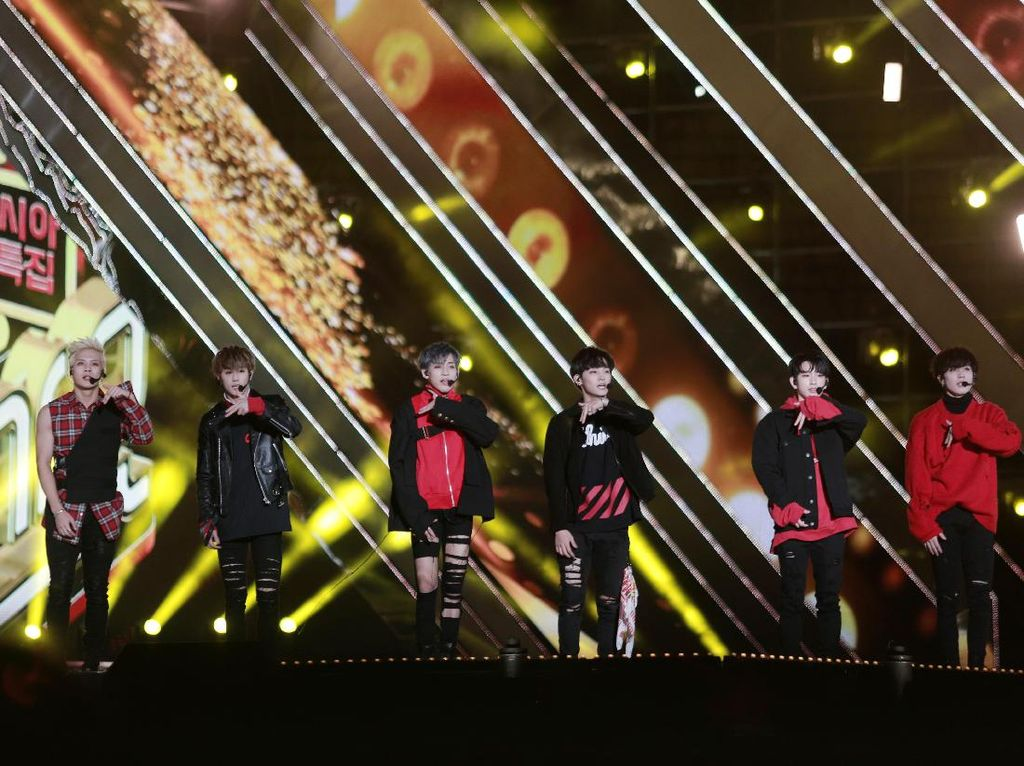 Look GOT7 Puncaki 4 Chart Situs Musik Korea