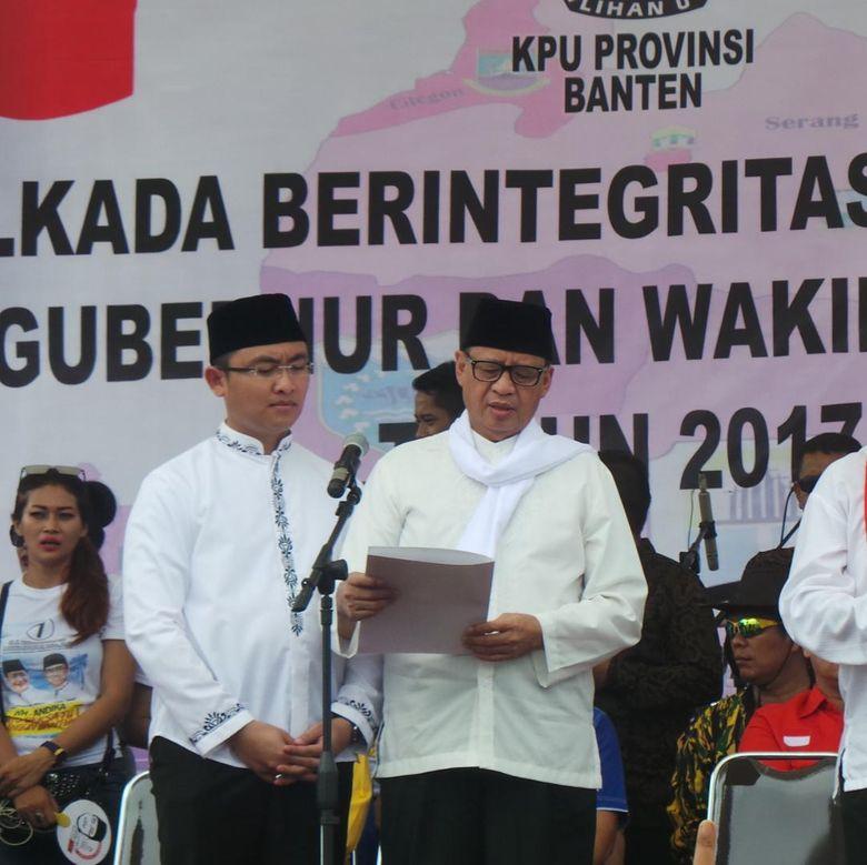 Image result for Cegah Korupsi, Cagub Banten Wahidin: Beri Reward yang Berprestasi