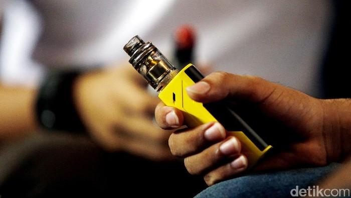 Vape makin banyak dikaitkan dengan masalah paru (Foto: Rengga Sancaya)