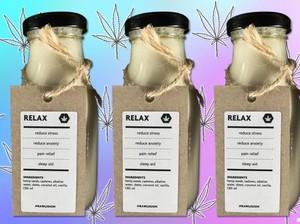 Susu Ganja yang Gurih Manis Mulai Digemari untuk Atasi Rasa Sakit dan Cemas