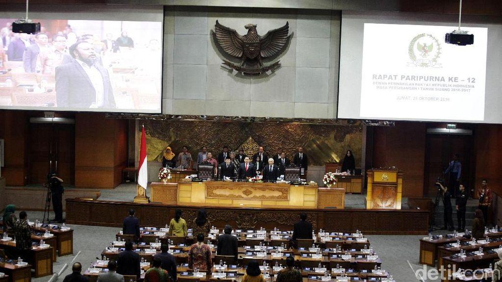 PDIP Minta Kursi Pimpinan DPR Ditambah, Begini Sikap Fraksi-Fraksi