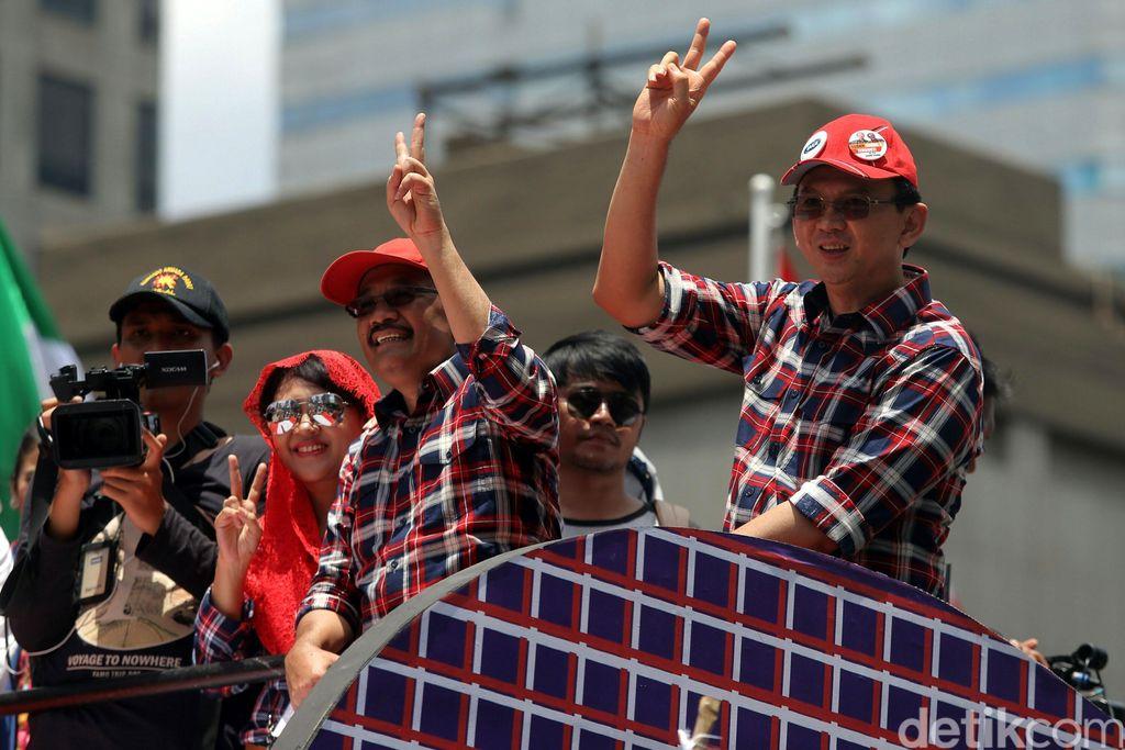 Jika Ahok Diberhentikan Sementara Saat Jadi Terdakwa, Djarot Pimpin Jakarta