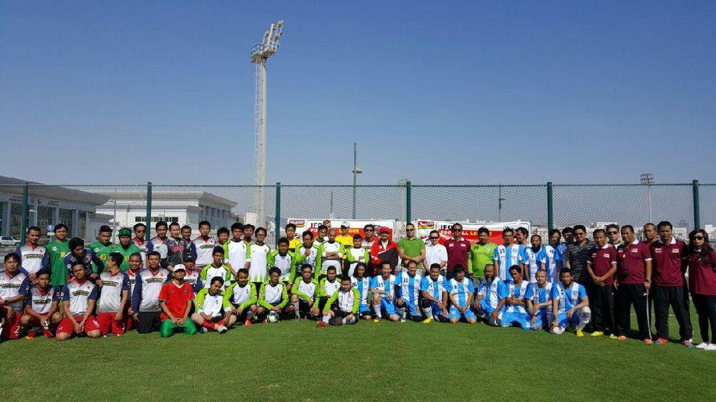 Peringati Sumpah Pemuda, Diaspora di Qatar Pilih Gelar Liga Sepakbola