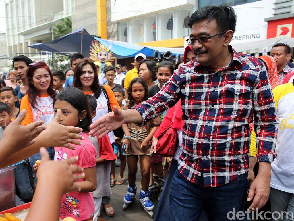 Djarot Hadiri Festival Betawi di Pecenongan