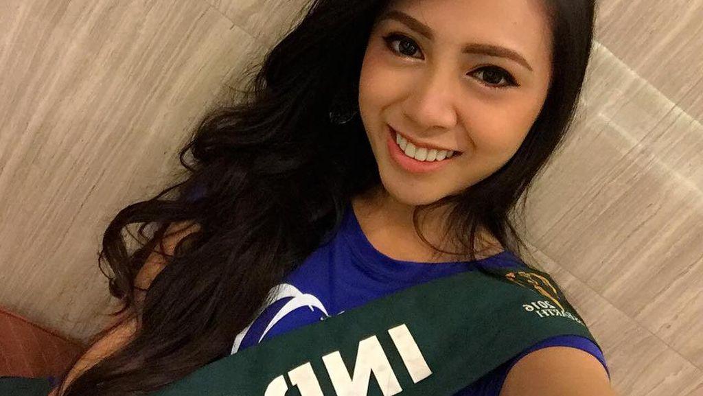 Salah Dengar, Wakil Indonesia di Miss Earth 2016 Menangis dan Minta Maaf