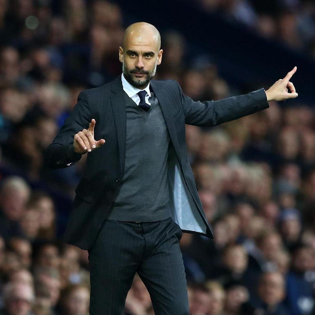 Dikabarkan Minati Sanchez, Guardiola: Itu Bohong