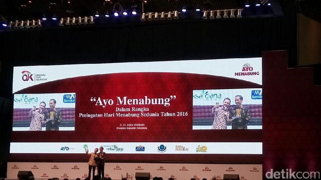 Di Depan Jokowi, Giring Nidji Jelaskan Pentingnya Menabung dan Investasi