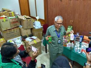 BBPOM Bandung Gagalkan Peredaran Obat dan Kosmetik Ilegal Senilai Rp 1,3 Miliar
