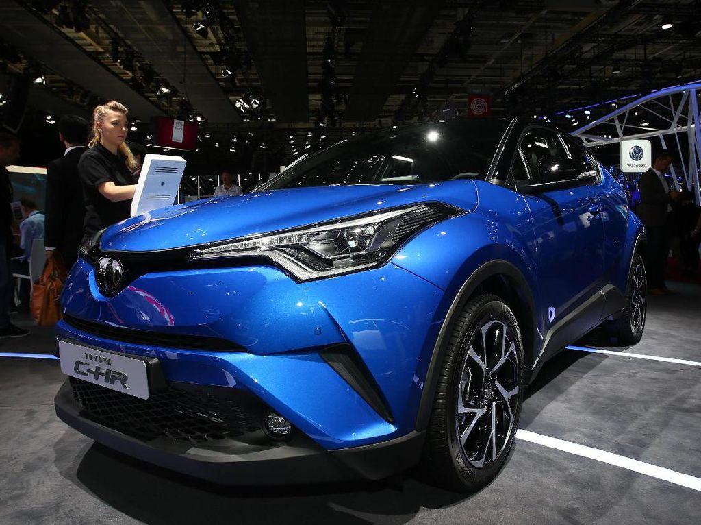 Tampang Akhir Toyota C-HR