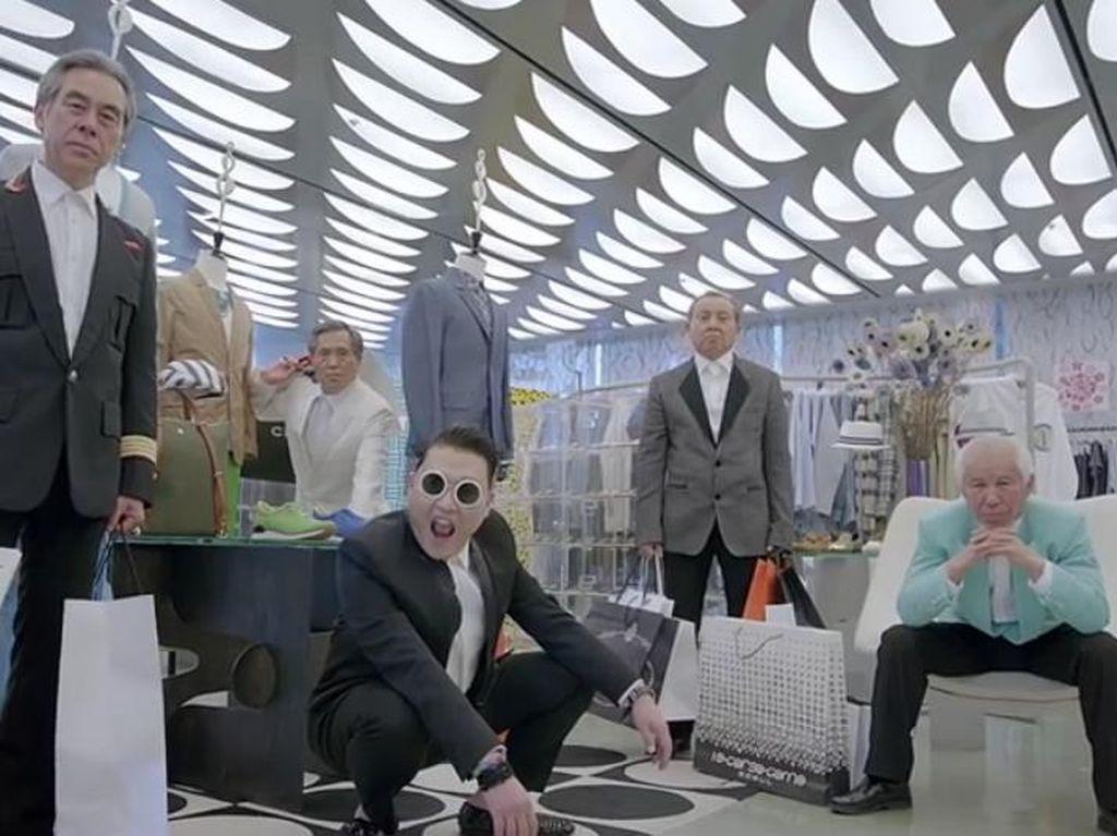 Susul Gangnam Style, MV Gentleman Psy Ditonton 1 Miliar