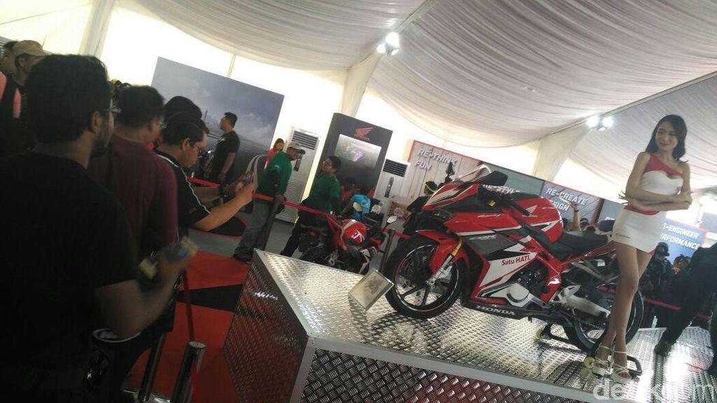 Dari Indonesia, Honda CBR250RR Mejeng di MotoGP Sepang