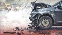 Kecelakaan Mobil di Tol Jorr KM21, Ada Korban Luka