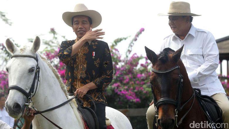 Prabowo Akan Makan Siang Bersama Jokowi di Istana