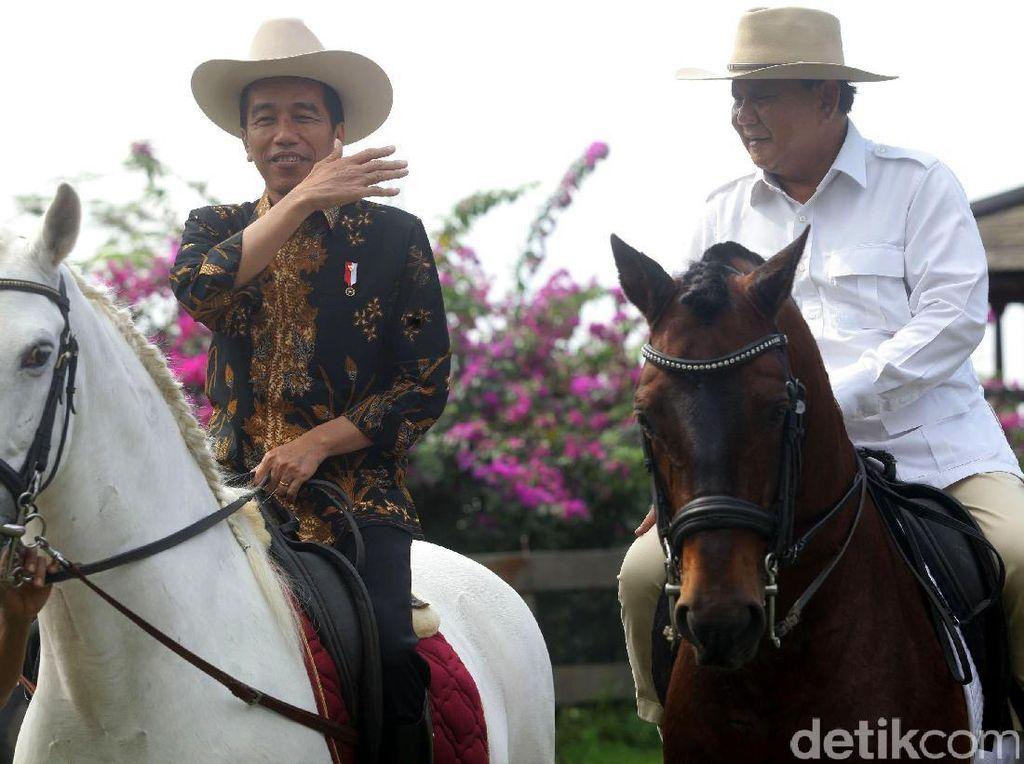 Redakan Ketegangan, Jokowi-Prabowo Diminta Naik Kuda Lagi Usai Pilpres