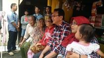 Sapa Warga di Jagakarsa, Ahok Tegaskan KJP Tak Boleh Ditarik Kontan