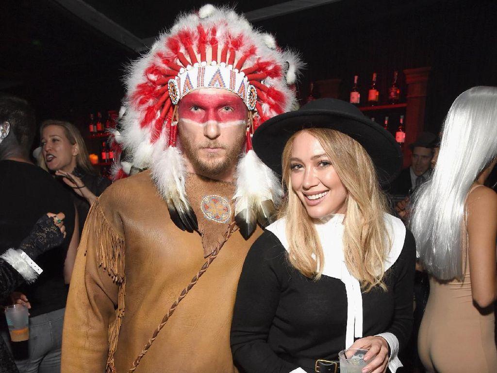 Berdandan Jadi Suku Indian Saat Halloween, Hilary Duff Di-Bully Netizen