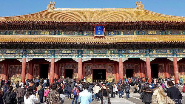 Kota Terlarag di Beijing tutup setelah merebaknya virus Corona.