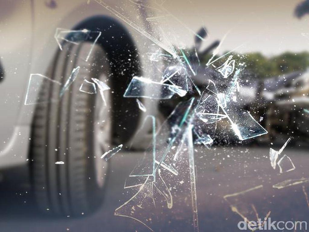 Korban yang Ditabrak Pemobil di Makassar Teriak Kafir Dirawat di RS Ibnu Sina