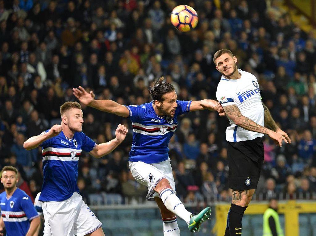 Inter Takluk di Tangan Sampdoria