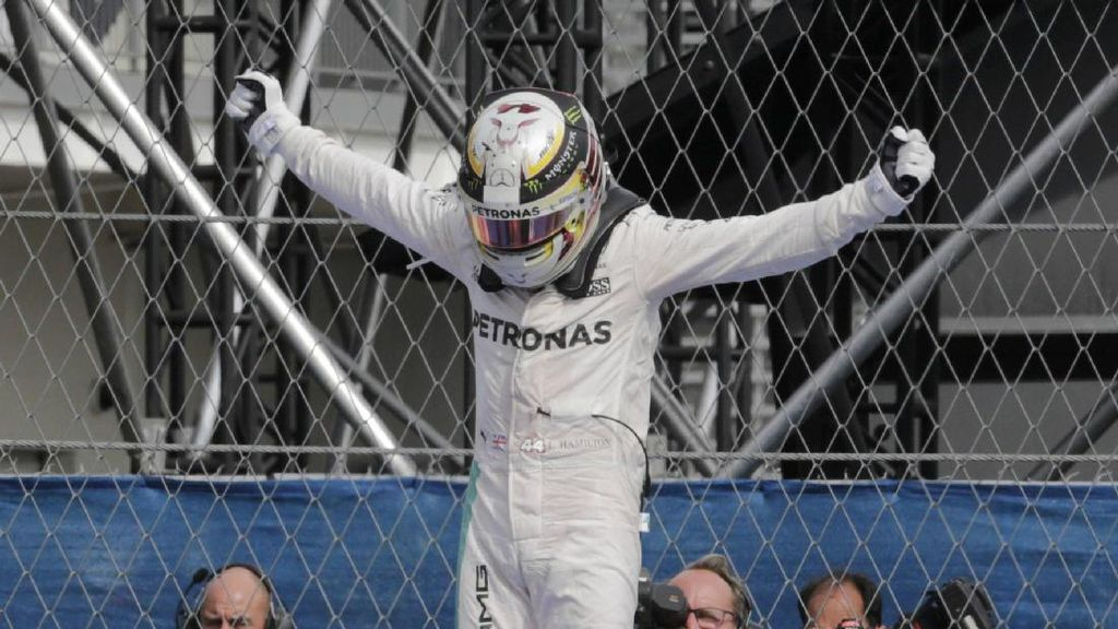 Hamilton Menangi GP Meksiko