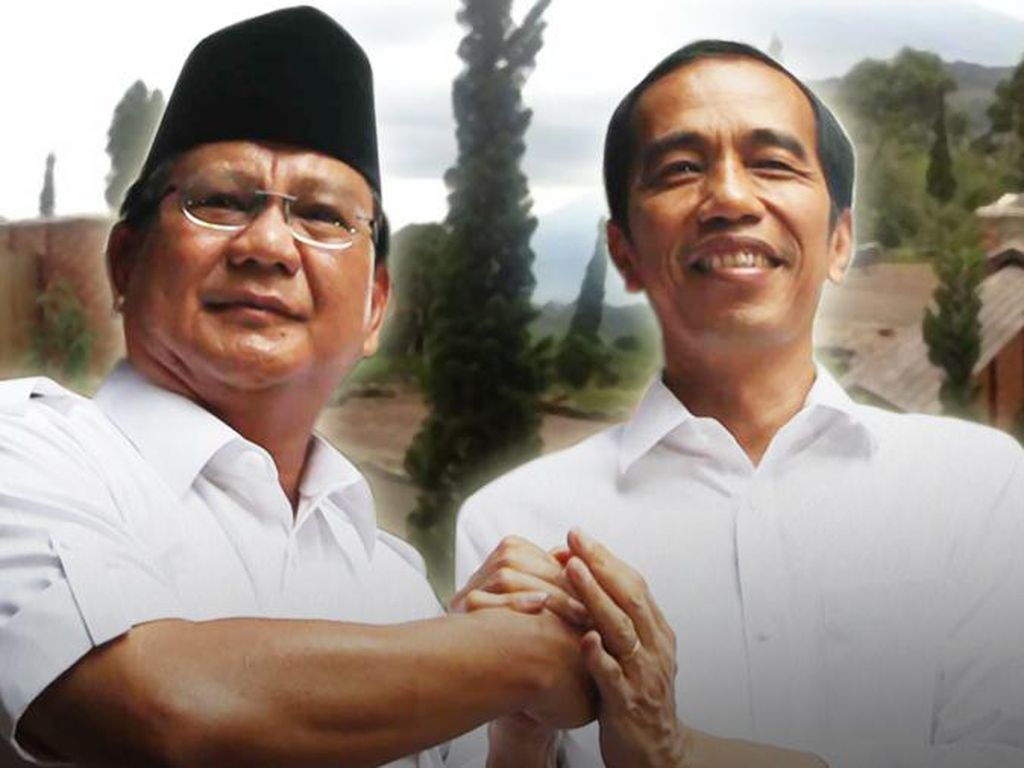 Jokowi Vs Prabowo soal Masa Depan Indonesia