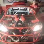 Pria Ini Pakai Mesin Ferrari di Toyota 86 Miliknya