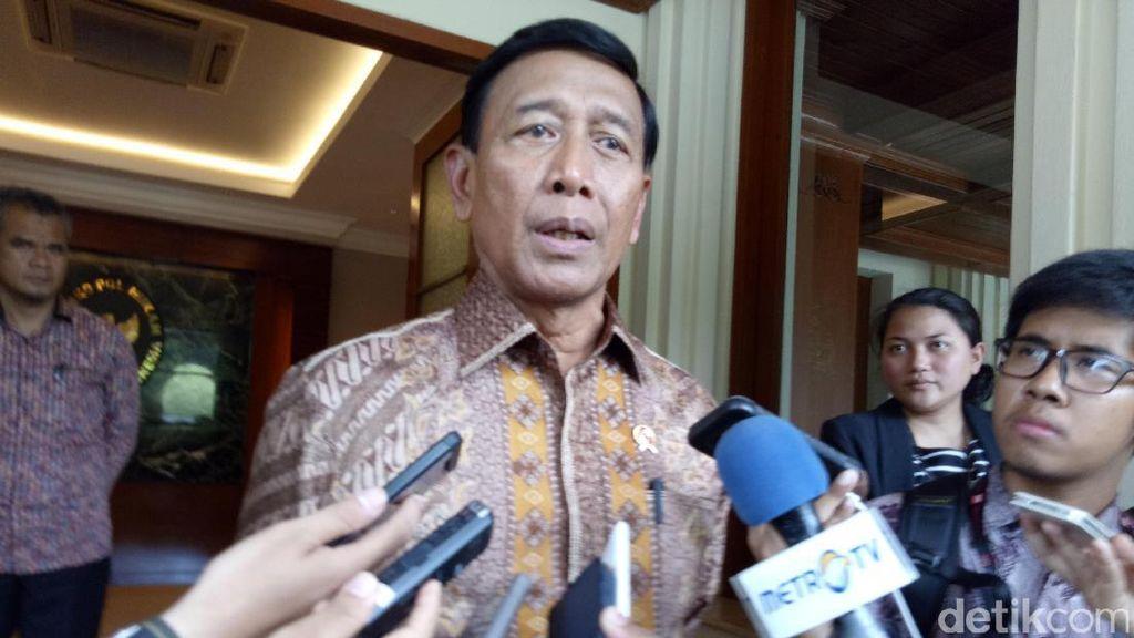 Wiranto: Ini Tradisi karena Pak SBY Mantan Menko Polkam