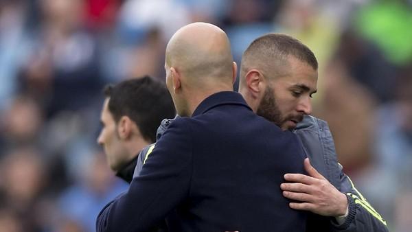 Benzema ke Zidane: Sampai Berjumpa Lagi!
