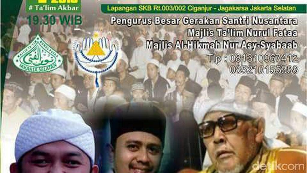 Gerakan Santri Nusantara: Mari Santun, Buktikan Islam yang Ramah bukan Pemarah