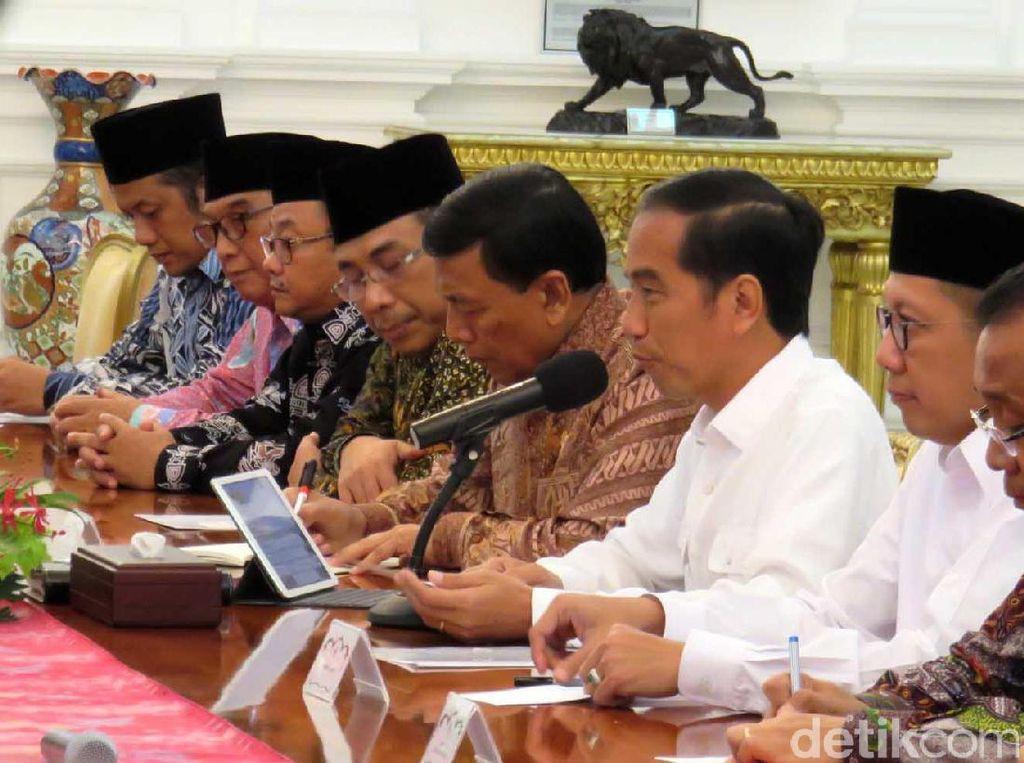 Jokowi Bertemu MUI, Muhammadiyah dan NU