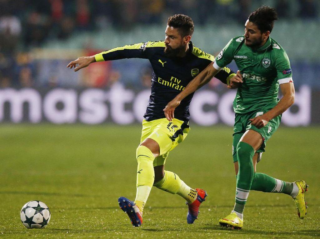 Arsenal Pastikan Tiket 16 Besar Setelah Bangkit dan Kalahkan Ludogorets
