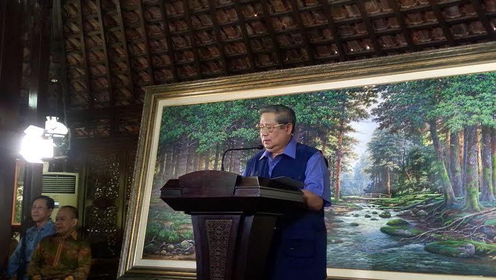 SBY Curhat di Twitter Soal Penyebaran Hoax