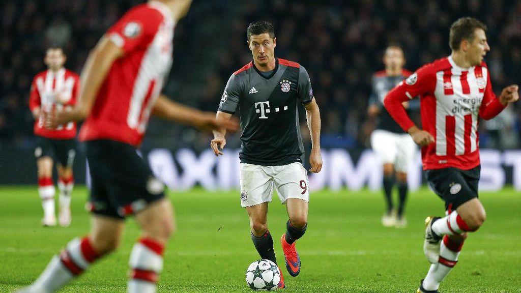 Bayern Kalahkan PSV 2-1, Lolos ke Fase Knockout